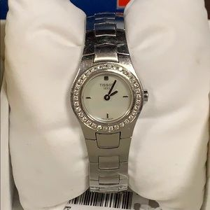 TISSOT Certified Diamond Stainless Steel Watch